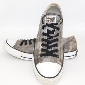 Converse All Star Grey Canvas Low Top Sneaker